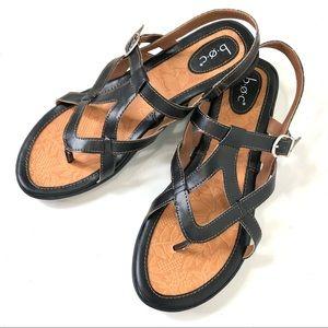 Boc Strappy Sandal New Size 11M Vegan Leather
